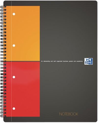 Oxford INTERNATIONAL Notebook, 160 bladzijden, ft A4+, geruit 5 mm 1 Stuk