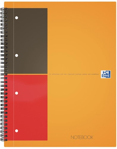 Oxford INTERNATIONAL Notebook, 160 bladzijden, ft A4+, gelijnd 1 Stuk