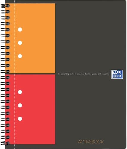 Oxford INTERNATIONAL Activebook, 160 bladzijden, ft A4+, geruit 5 mm 1 Stuk