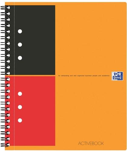 Oxford INTERNATIONAL Activebook, 160 bladzijden, ft A5+, gelijnd 1 Stuk