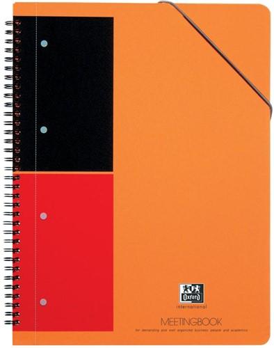 Oxford INTERNATIONAL Meetingbook, 160 bladzijden, ft A4+, gelijnd 1 Stuk