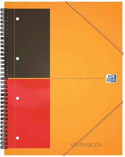 Oxford INTERNATIONAL Meetingbook, 160 bladzijden, ft A5+, gelijnd 1 Stuk