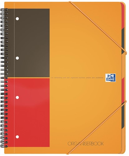 Oxford INTERNATIONAL Organiserbook, 160 bladzijden, ft A4+, gelijnd 1 Stuk