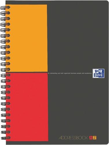 Oxford INTERNATIONAL Addressbook, ft A5, 144 bladzijden 1 Stuk