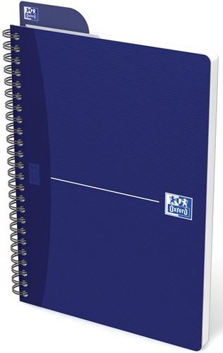 Oxford OFFICE Essentials spiraalblok, 180 bladzijden, ft A5, geruit 5 mm