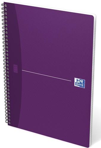 Oxford OFFICE Essentials spiraalblok, 180 bladzijden, ft A4, geruit 5 mm