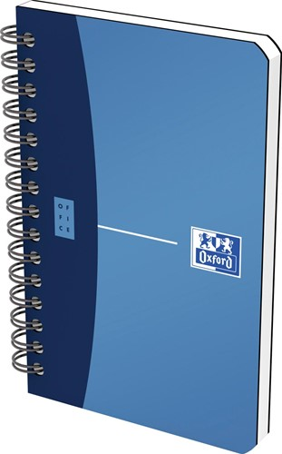 Oxford Office Urban Mix notitieboekje, 180 bladzijden, ft 9 x 14 cm, geruit 5 mm, geassorteerde kleuren