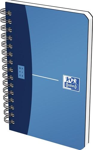 Oxford OFFICE Urban Mix spiraalblok, 180 bladzijden, ft 9 X 14 cm,  geruit 5 mm