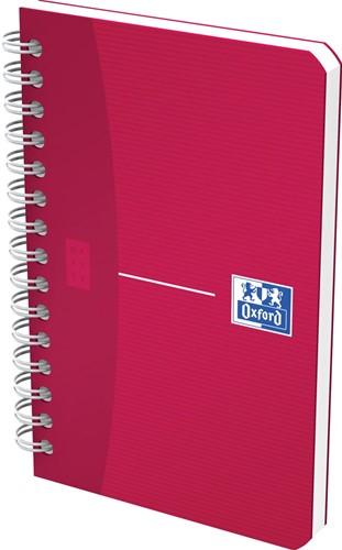 Oxford Office My Colours notitieboekje, 180 bladzijden, ft 9 x 14 cm, geruit 5 mm, geassorteerde kleuren