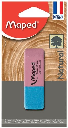 Maped gum Duo-Gom groot formaat, blister met 1 stuk