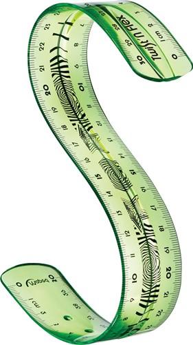 Maped lat Twist'n Flex, 30 cm 1 Stuk