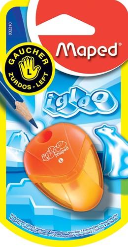 Maped potloodslijper i-gloo voor linkshandigen, op blister