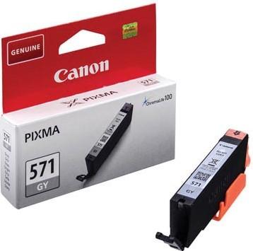 Canon inktcartridge CLI-571GY, 780 pagina's, OEM 0389C001, grijs 1 Stuk