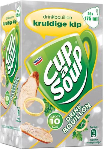 Cup-a-Soup drinkbouillon kruidige kip, pak van 26 zakjes 26 Zak