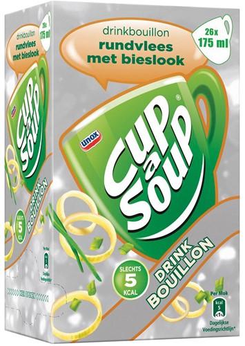 Cup-a-Soup drinkbouillon rundsvlees met bieslook, pak van 26 zakjes 26 Zak