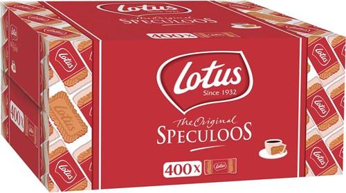 Lotus speculoos, doos van 400 individeel verpakte stuks
