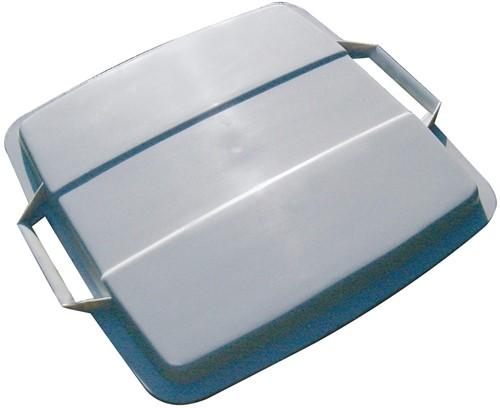 Durable deksel Durabin 90 liter, grijs