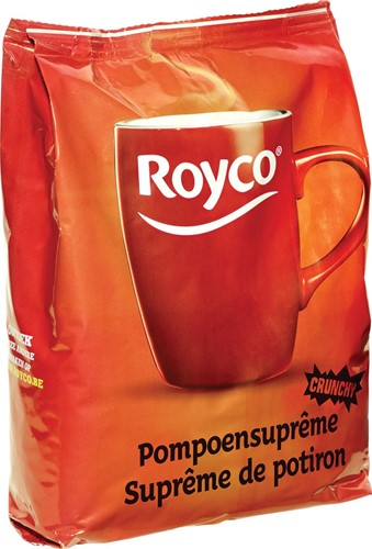 Royco Minute Soup pompoensuprême, voor automaten, 140 ml, 70 porties