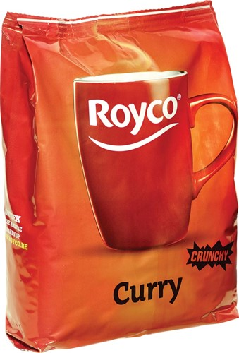 Royco Minute Soup Indian curry, voor automaten, 140 ml, 80 porties