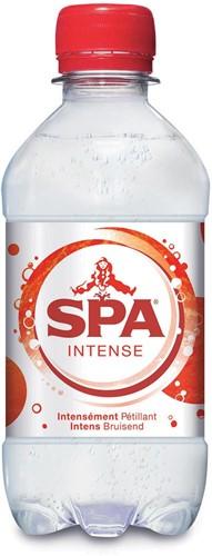 Spa Intense water, fles van 33 cl, pak van 24 stuks