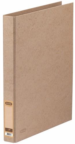 OXFORD Touareg ringmap, formaat A4, uit karton, rug van 3,5 cm, 2 D-ringen, zand 1 Stuk