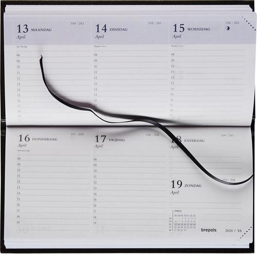 Brepols plan- en zakagenda Breprint Lima, zwart, 2020-2021 1 Stuk