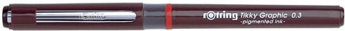 Rotring fineliner Tikky Graphic 0,3 mm 1 Stuk