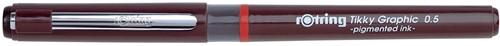 Rotring fineliner Tikky Graphic 0,5 mm 1 Stuk
