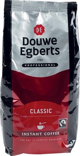 Douwe Egberts instant koffie, Classic, fairtrade, pak van 300 gram
