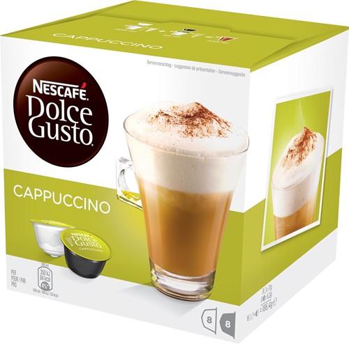 Nescafé Dolce Gusto koffiecapsules, Cappucino, pak van 16 stuks 16 Cup