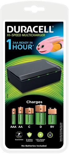 Duracell batterijlader Hi-Speed Multicharger, op blister 1 Stuk