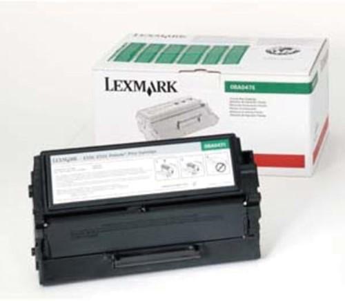 Lexmark Tonercartridge zwart return program - 3000 pagina's - 8A0476