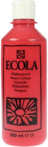 Talens Ecola plakkaatverf flacon van 500 ml, scharlaken
