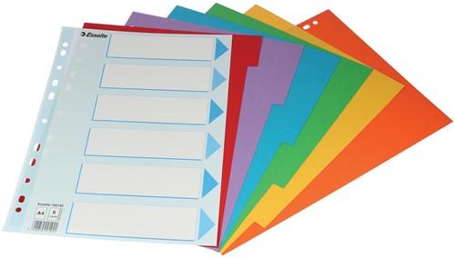 Esselte tabbladen 6 tabs 1 Set