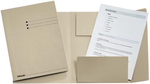 Esselte dossiermap grijs, ft folio 1 Stuk