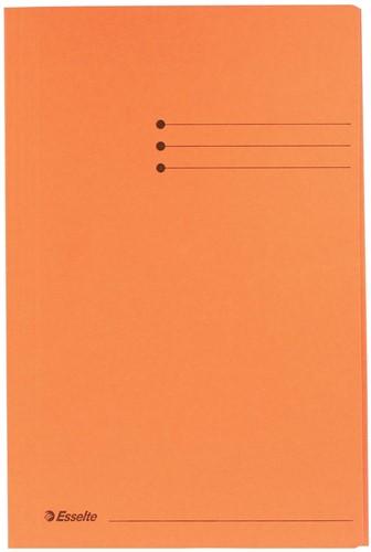 Esselte dossiermap oranje, ft folio 1 Stuk