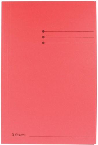 Esselte dossiermap rood, ft folio 1 Stuk
