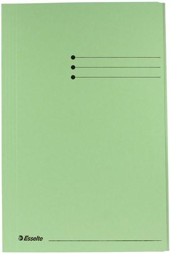 Esselte dossiermap groen, ft folio 1 Stuk