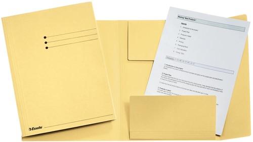 Esselte dossiermap geel, ft A4 1 Stuk