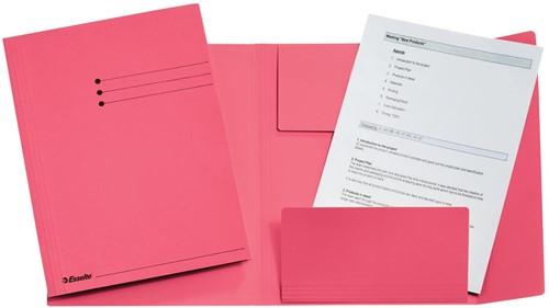 Esselte dossiermap roze, ft A4 1 Stuk