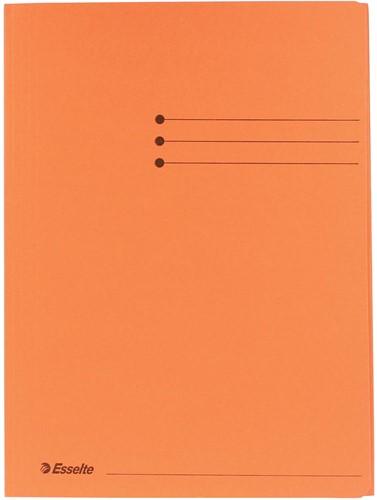 Esselte dossiermap oranje, ft A4 1 Stuk
