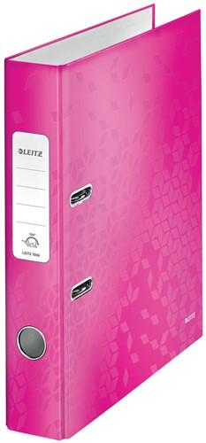 Leitz WOW ordner roze, rug van 5,2 cm 1 Stuk