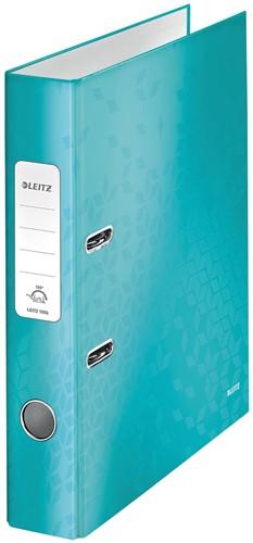 Leitz WOW ordner ijsblauw, rug van 5 cm 1 Stuk