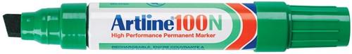 Permanent marker Artline 100 groen 1 Stuk