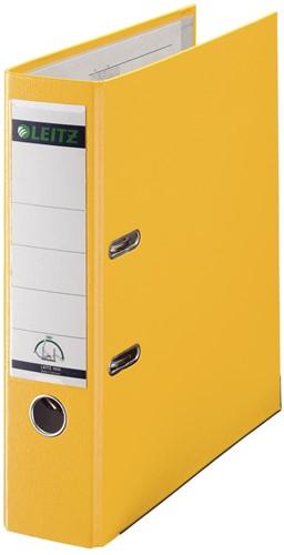 Leitz ordner geel, rug van 8 cm 1 Stuk