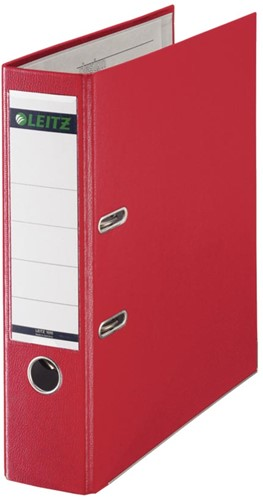 Leitz ordner rood, rug van 8 cm 1 Stuk