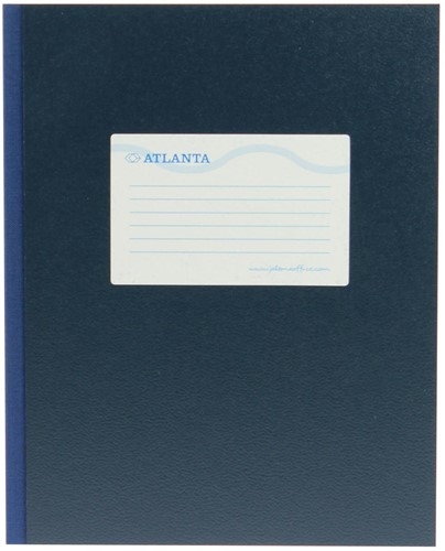 Atlanta by Jalema breedkwarto's 128 bladzijden, blauw 1 Stuk