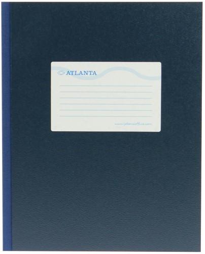 Atlanta by Jalema breedkwarto's 160 bladzijden, blauw 1 Stuk