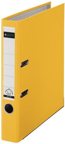 Leitz ordner geel, rug van 5 cm 1 Stuk