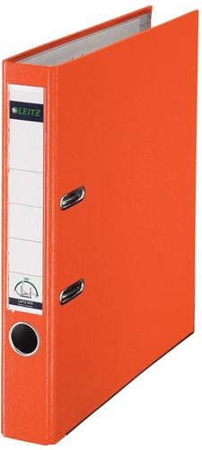 Leitz ordner oranje, rug van 5 cm 1 Stuk